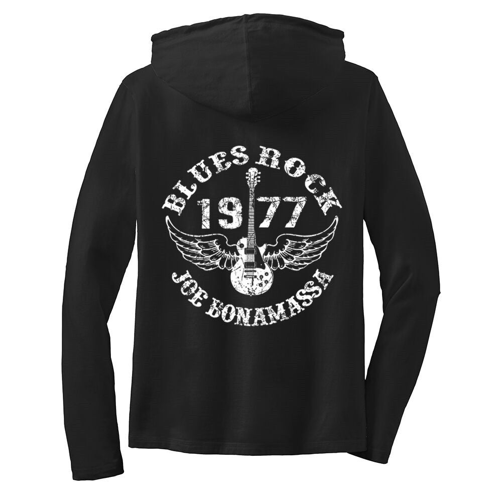 Blues Rock Hooded Long Sleeve (Women)