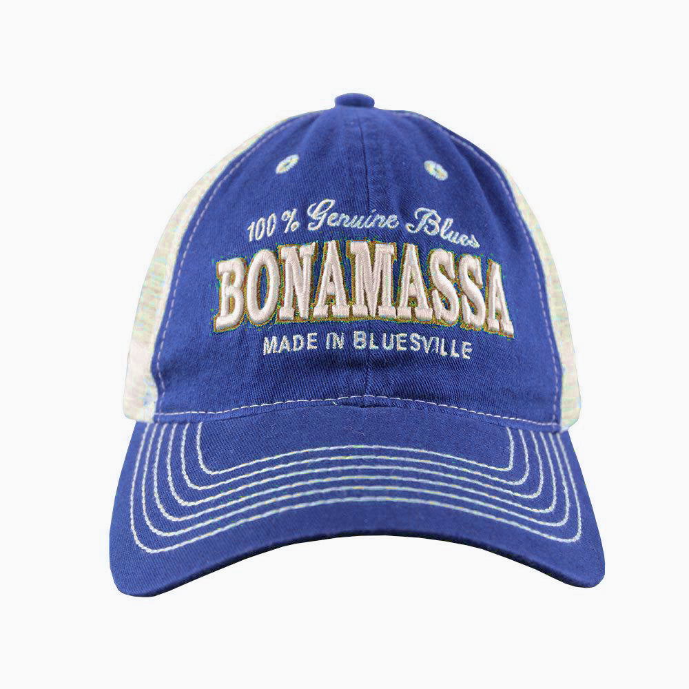 Genuine Blues Hat (Dark Royal) - Bonamassa Custom Shop