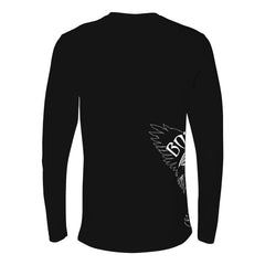 Blue and Evil Long Sleeve (Men)