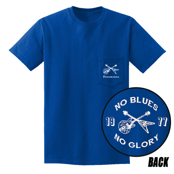 No Blues, No Glory Pocket T-Shirt (Unisex) - Royal