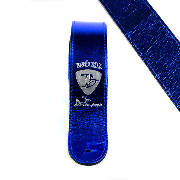 Metallic Blue - Ernie Ball JB Signature Guitar Strap