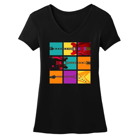 Tribut - Blues Art V-Neck (Women)