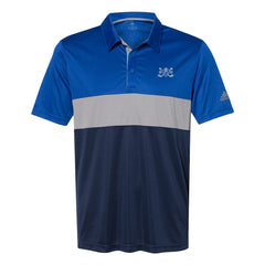 Blues Bogey Adidas Block Sport Polo (Men) - Royal