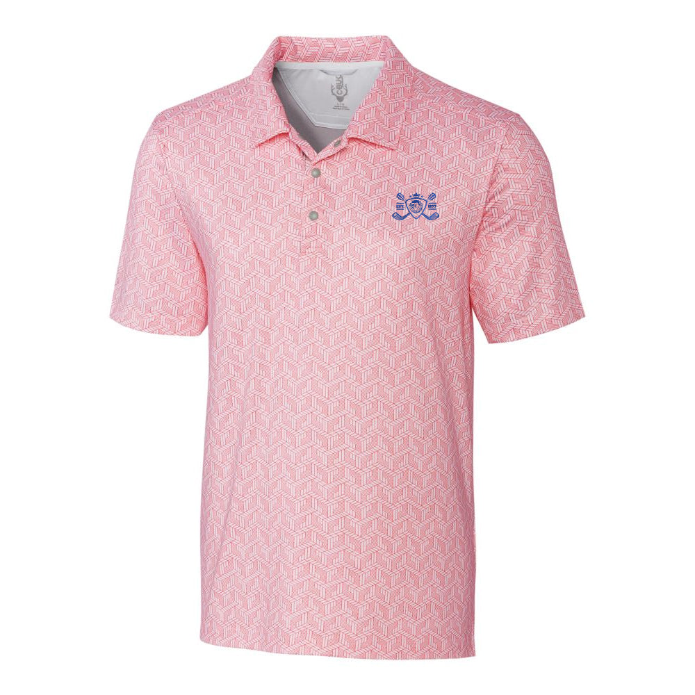 Blues Bogey Cutter & Buck Finn Polo (Men) - Red