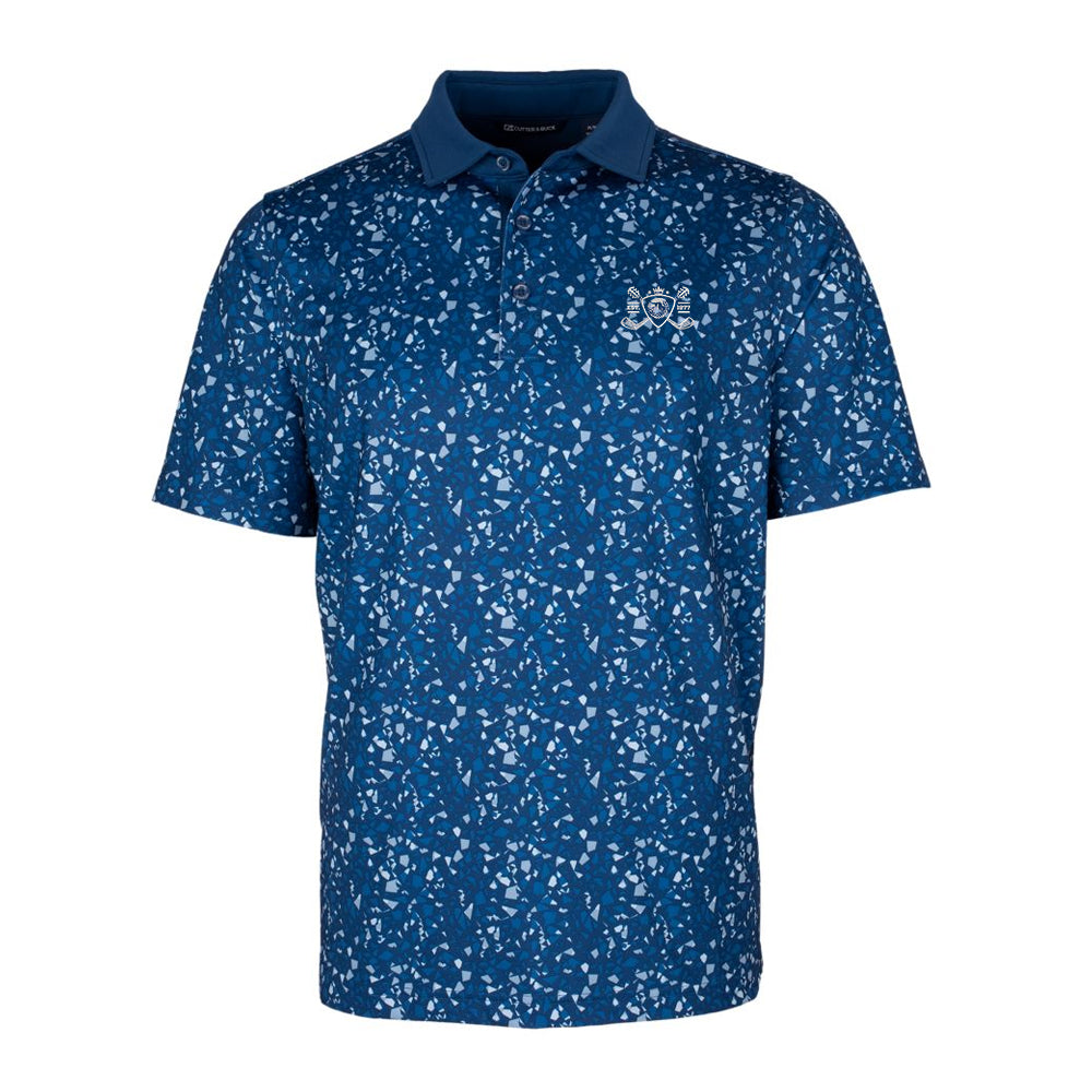 Blues Bogey Cutter & Buck Particle Polo (Men) - Indigo