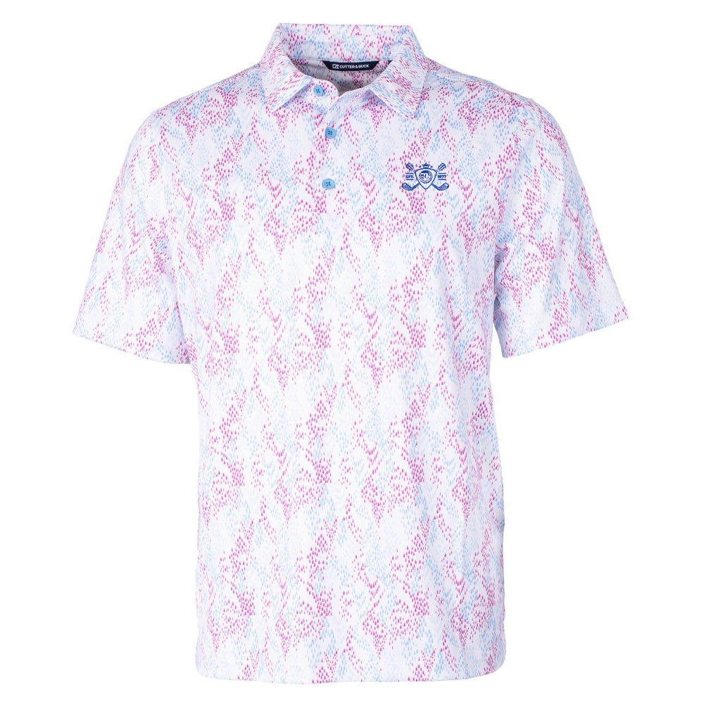 Blues Bogey Cutter & Buck Rain Polo (Men) - Aster