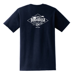 Bonamassa Blues Club Pocket T-Shirt (Unisex) - Navy
