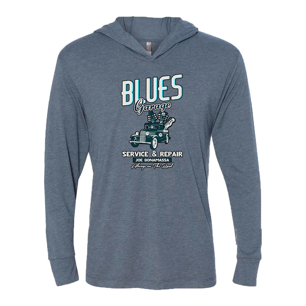 Blues Garage Long Sleeve & Hoodie (Unisex) - Indigo