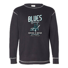Blues Garage Thermal (Unisex) - Black