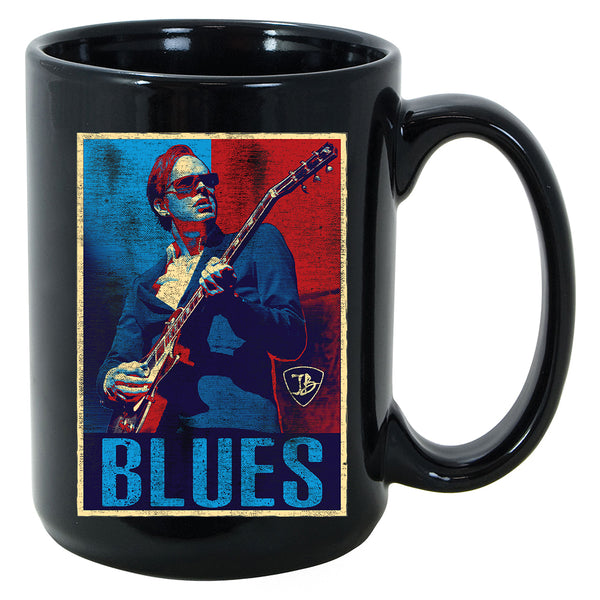 Blues Illustration Mug
