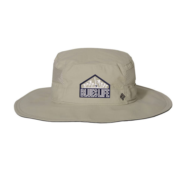 Blues Life Shield Columbia Booney Hat - Fossil