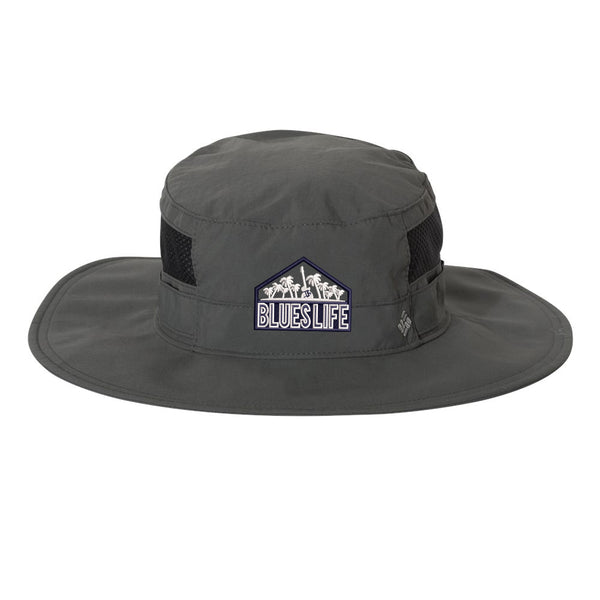 Blues Life Shield Columbia Booney Hat - Grill