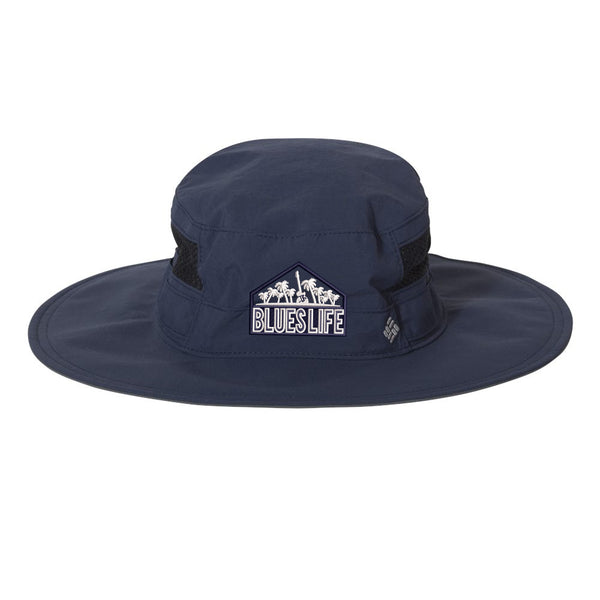 Blues Life Shield Columbia Booney Hat - Navy