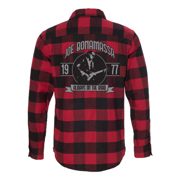 Blues Principal Flannel Long Sleeve (Men) - Red