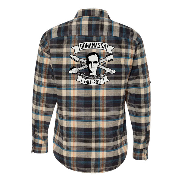 ed0766d584f Headstock Blues Flannel Long Sleeve (Men) - Dark Khaki
