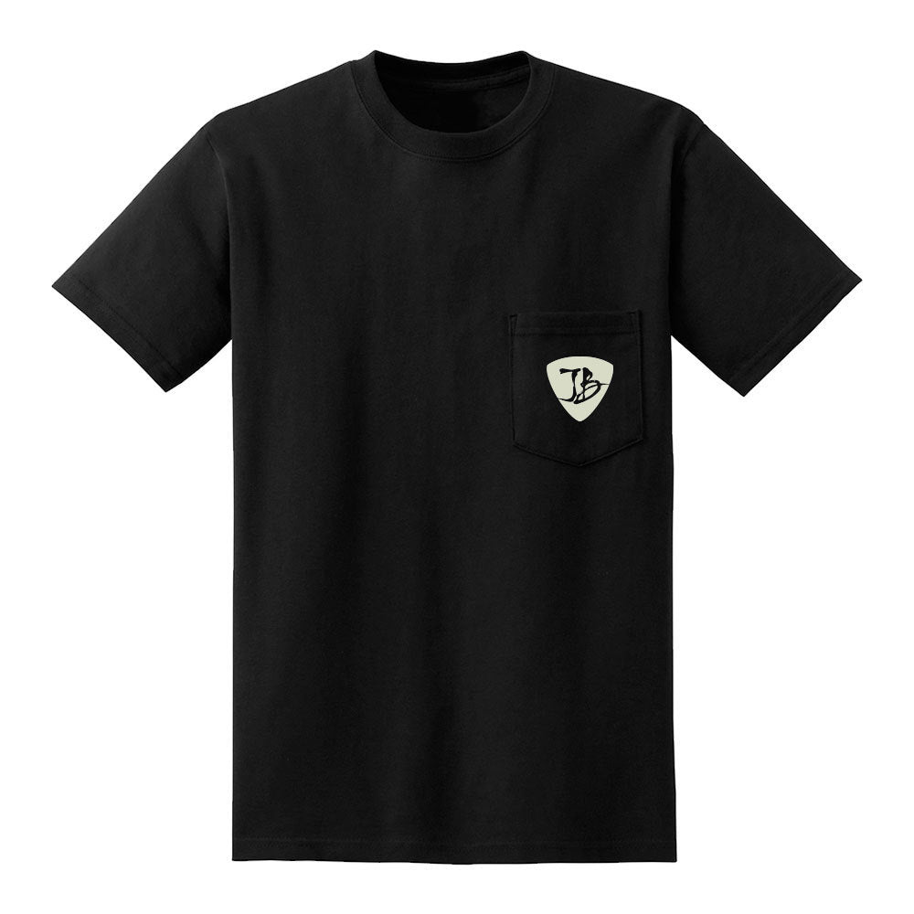 Headstock Blues Pocket T-Shirt (Unisex)