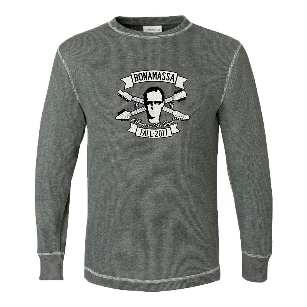 Headstock Blues Thermal (Unisex) - Charcoal