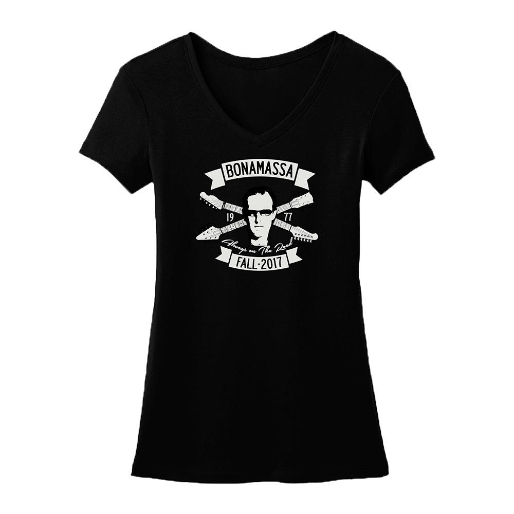 Headstock Blues V-Neck (Women)