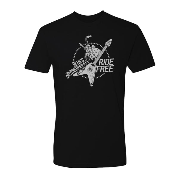 Blues Ride Free T-Shirt (Unisex)