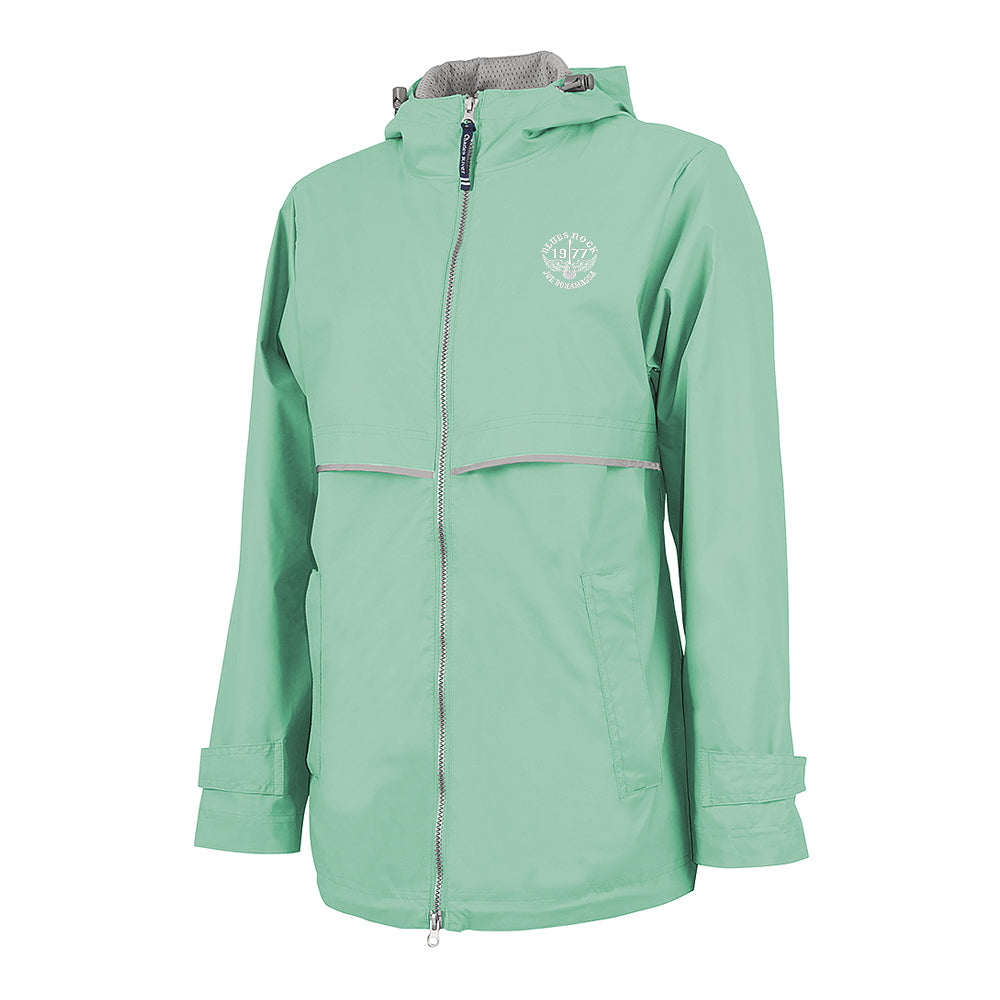 Blues Rock Rain Jacket (Women) - Mint