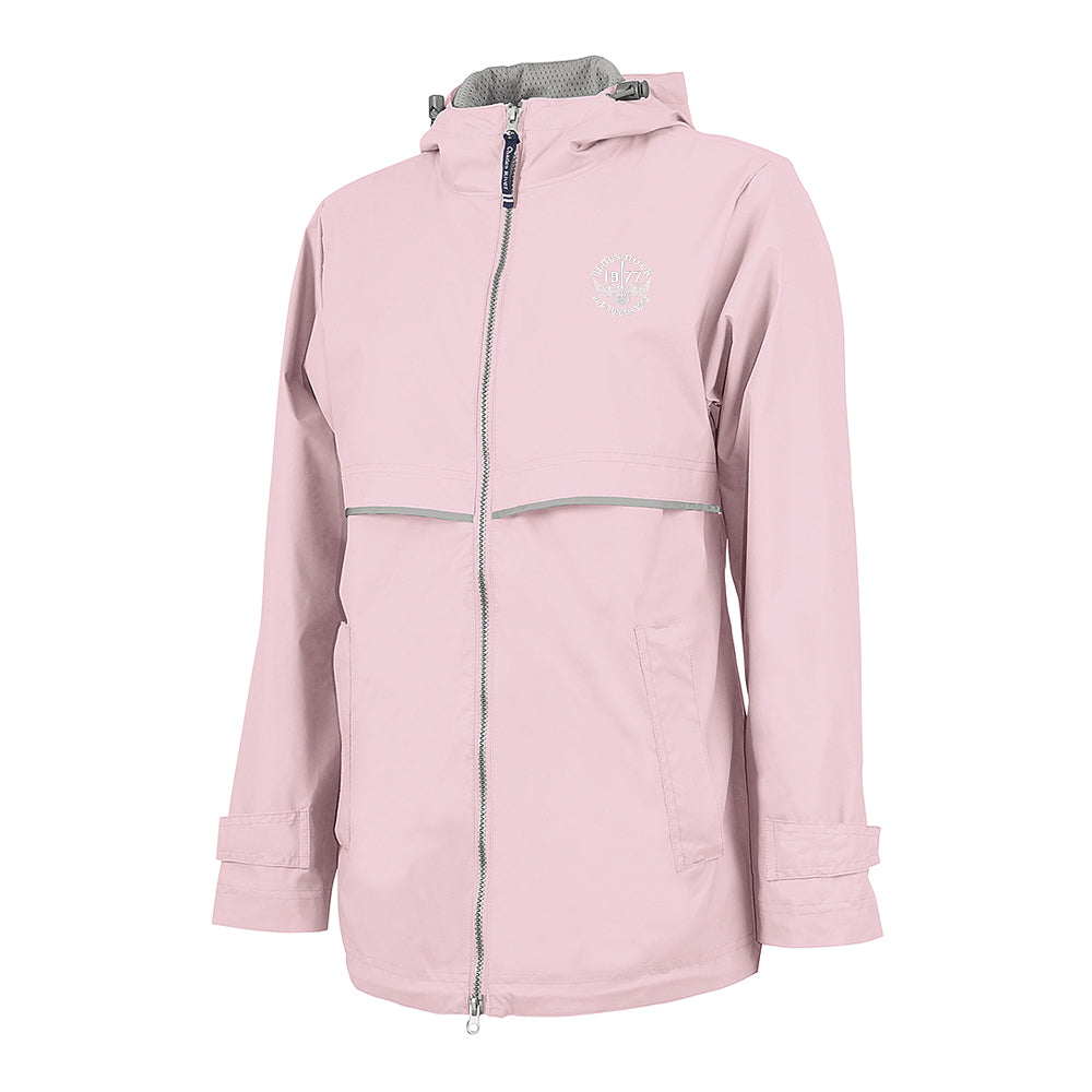 Blues Rock Rain Jacket (Women) - Pink