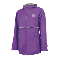 Blues Rock Rain Jacket (Women) - Violet