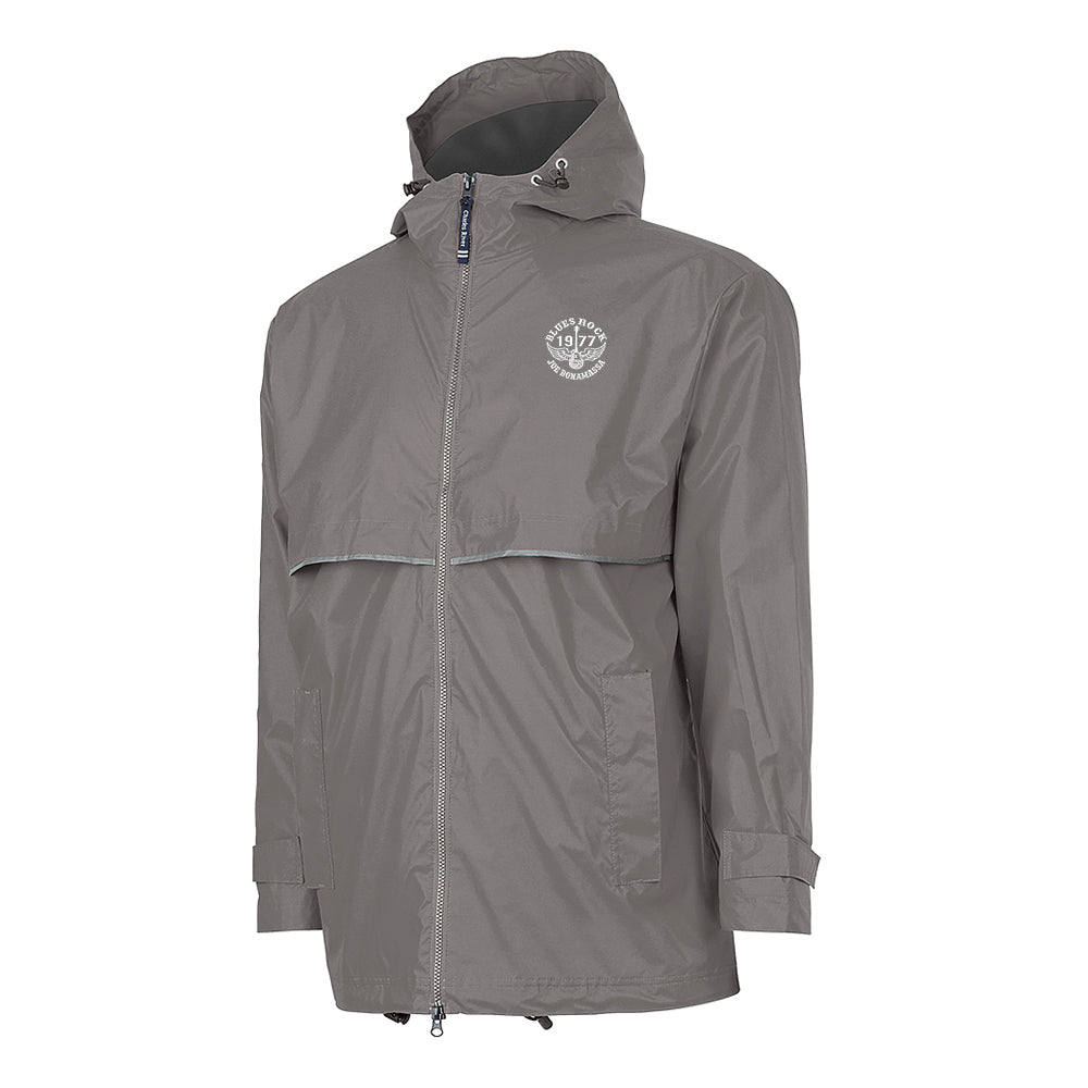 Blues Rock Rain Jacket (Men) - Grey