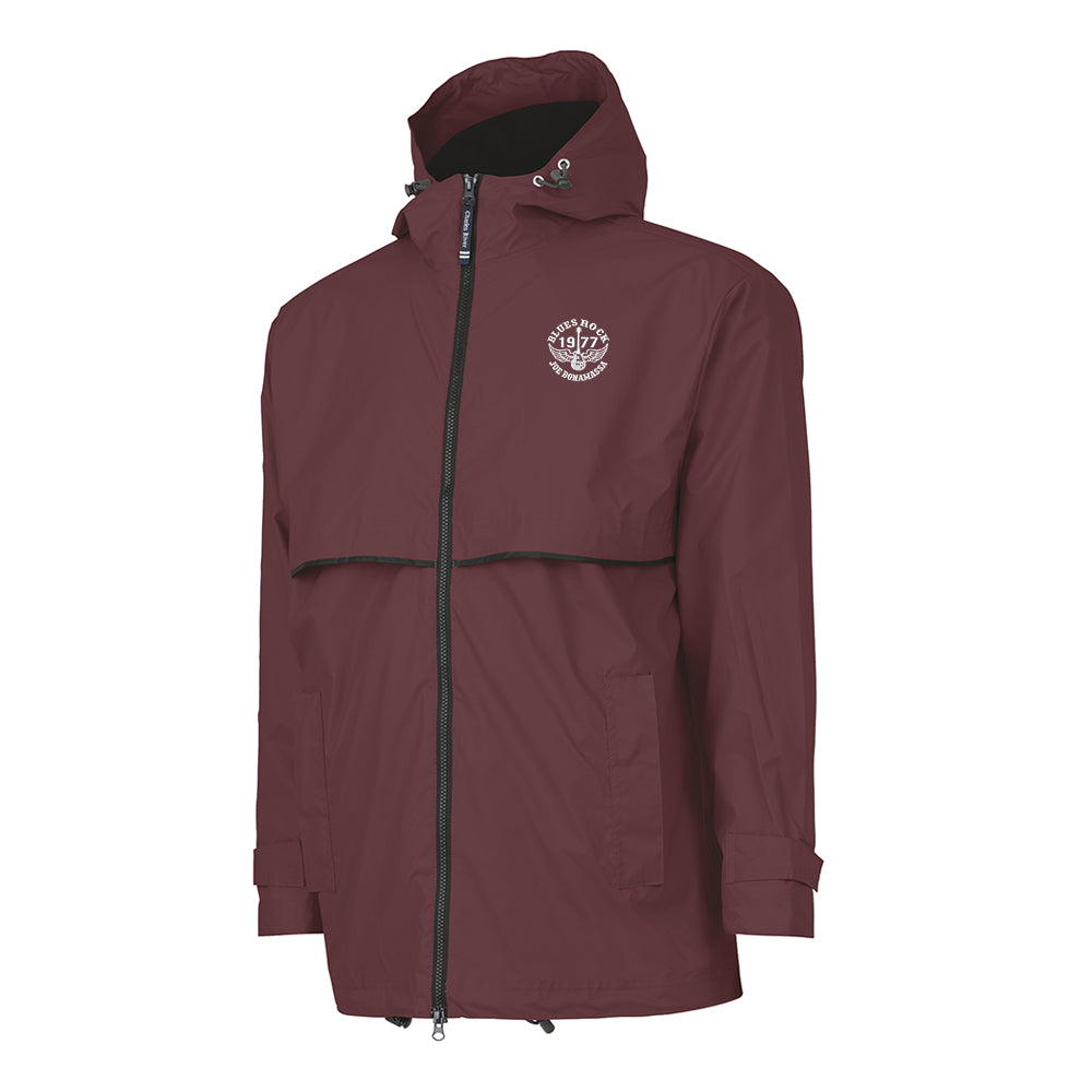 Blues Rock Rain Jacket (Men) - Maroon