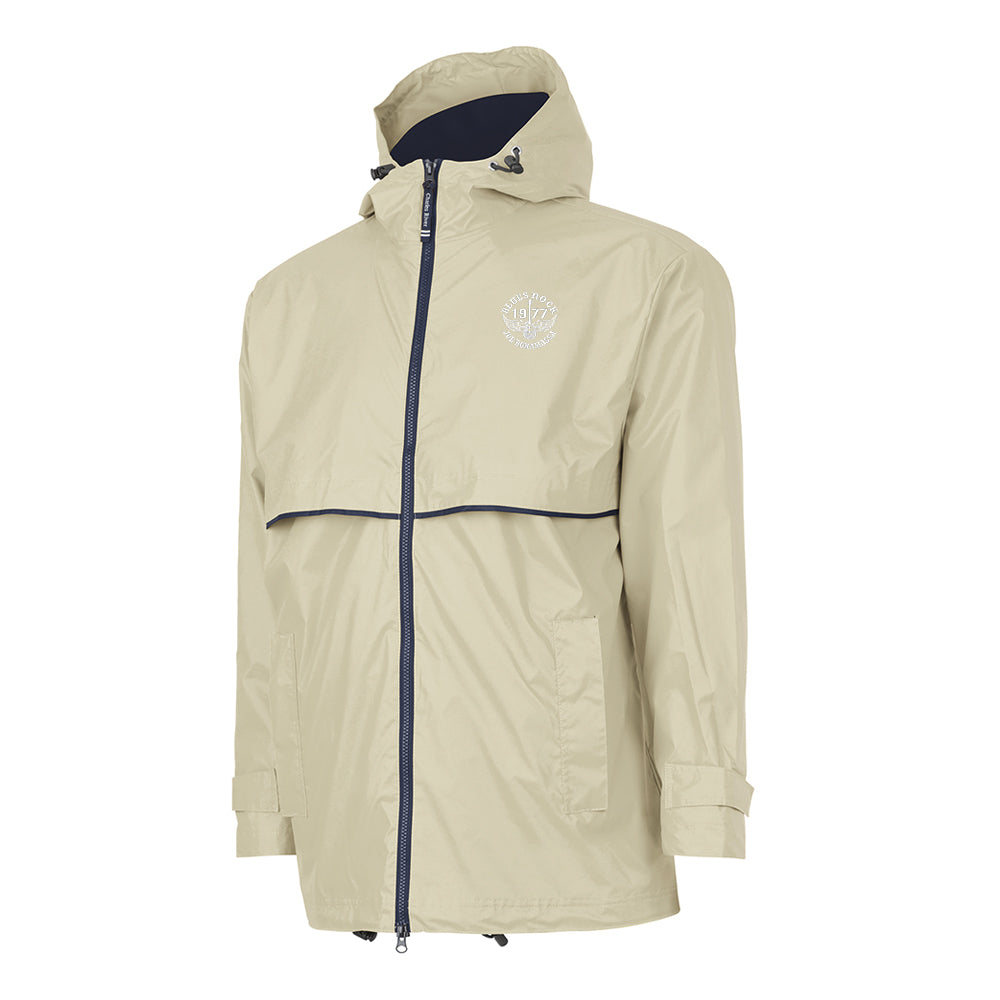 Blues Rock Rain Jacket (Men) - Taupe