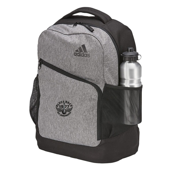 Blues Rock Adidas Heathered Backpack