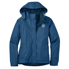 Blues Rock Eddie Bauer Rain Jacket (Women) - Blue