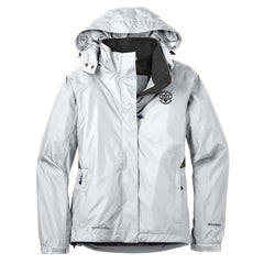 Blues Rock Eddie Bauer Rain Jacket (Women) - White