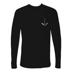 Blues Rock Lives On Long Sleeve (Men) - Black