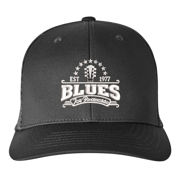 Blues Seal Puma Golf Snapback Trucker Cap - Black
