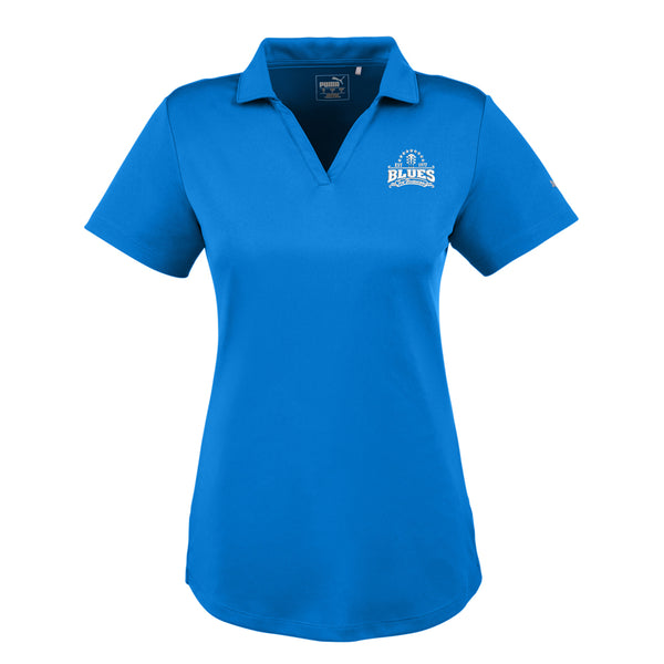 Blues Seal Puma Icon Golf Polo (Women) - Lapis
