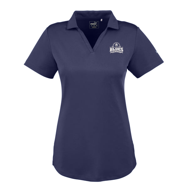 Blues Seal Puma Icon Golf Polo (Women) - Peacoat