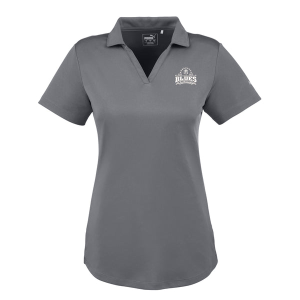 Blues Seal Puma Icon Golf Polo (Women) - Shade