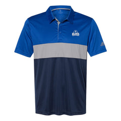Blues Seal Adidas Block Sport Polo (Men) - Royal