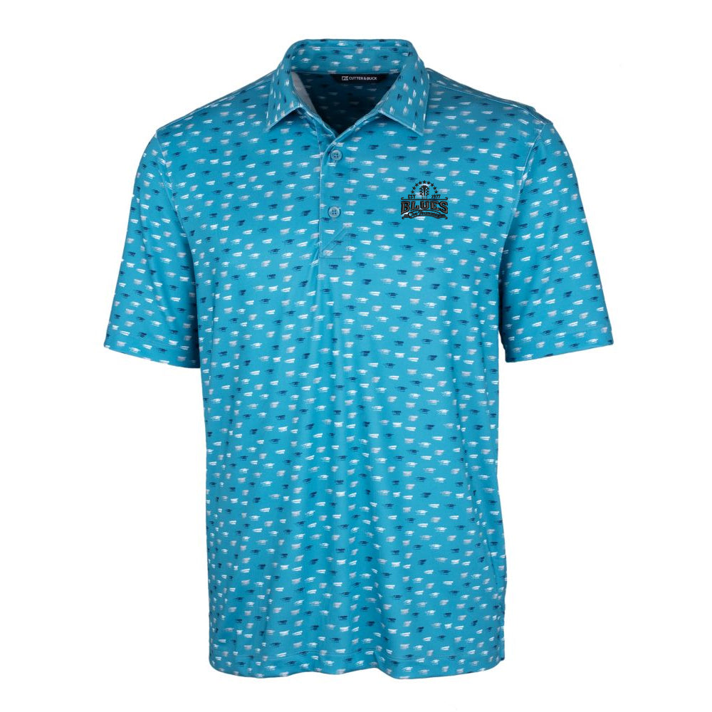 Blues Seal Cutter & Buck Daub Polo (Men) - Chamber