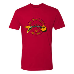 Blues to the Bone T-Shirt (Unisex) - Red