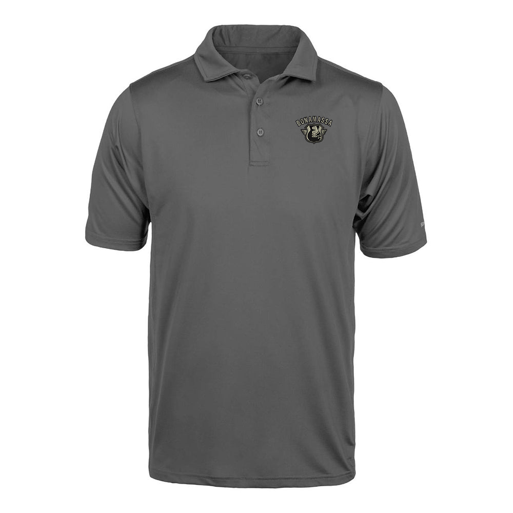 Bluesville Route Reebok Cypress Polo (Men) - Grey