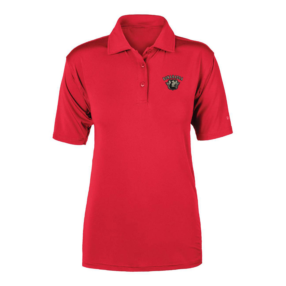 Bluesville Route Reebok Cypress Polo (Women) - Red