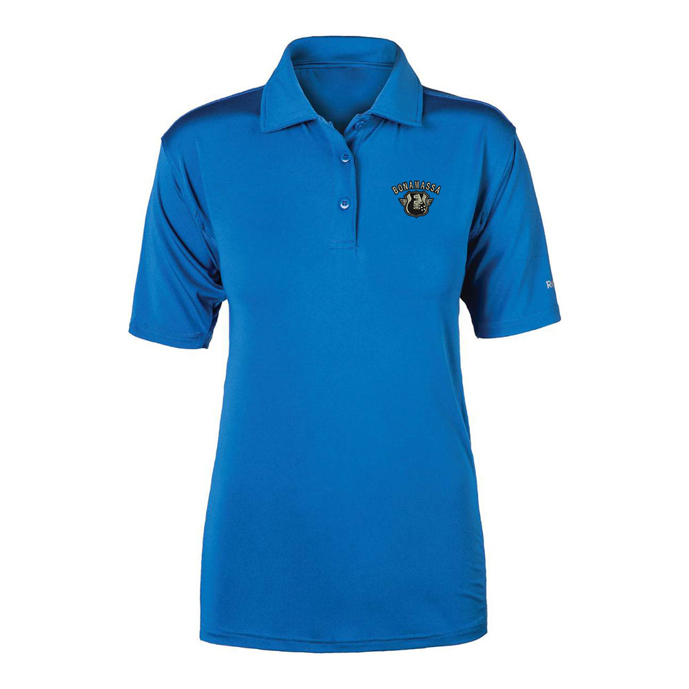 Bluesville Route Reebok Cypress Polo (Women) - Royal