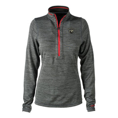 Bluesville Route Reebok Circuit 1/4 Zip-Up (Women) - Grey