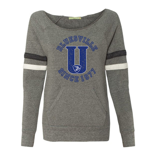 "Bluesville ""U"" Logo Sweatshirt (Women)"