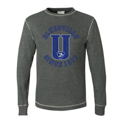 "Bluesville ""U"" Logo Thermal (Unisex) - Charcoal"
