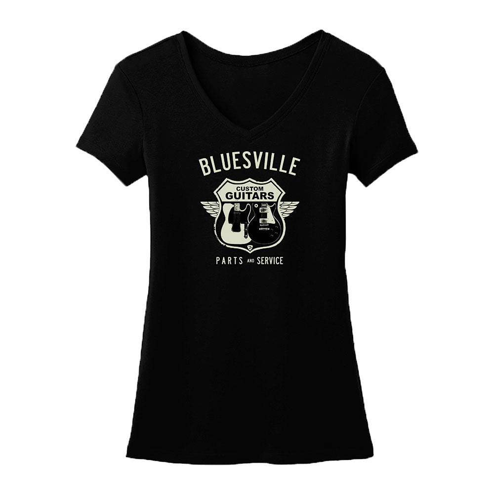 Bluesville Route V-Neck (Women)