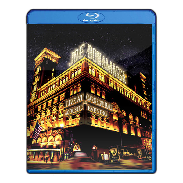 Joe Bonamassa: Live at Carnegie Hall - An Acoustic Evening (Blu-ray) (Released: 2017)