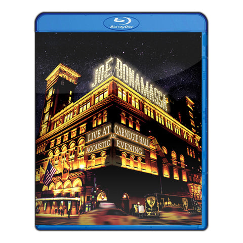 Joe Bonamassa: Live at Carnegie Hall - An Acoustic Evening (Blu-ray) (Released: 2017) ***PRE-ORDER***