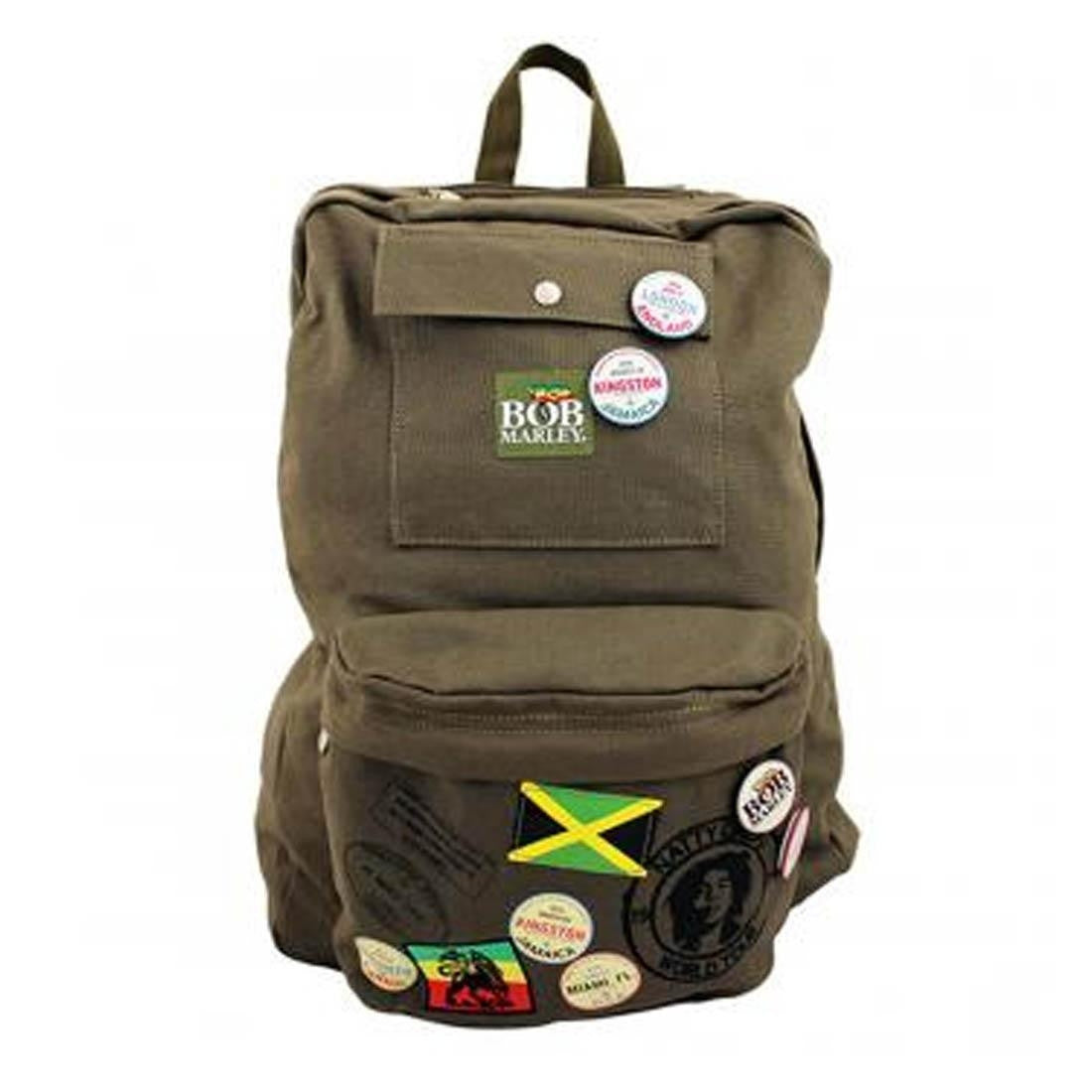 Bob Marley - Military Backpack